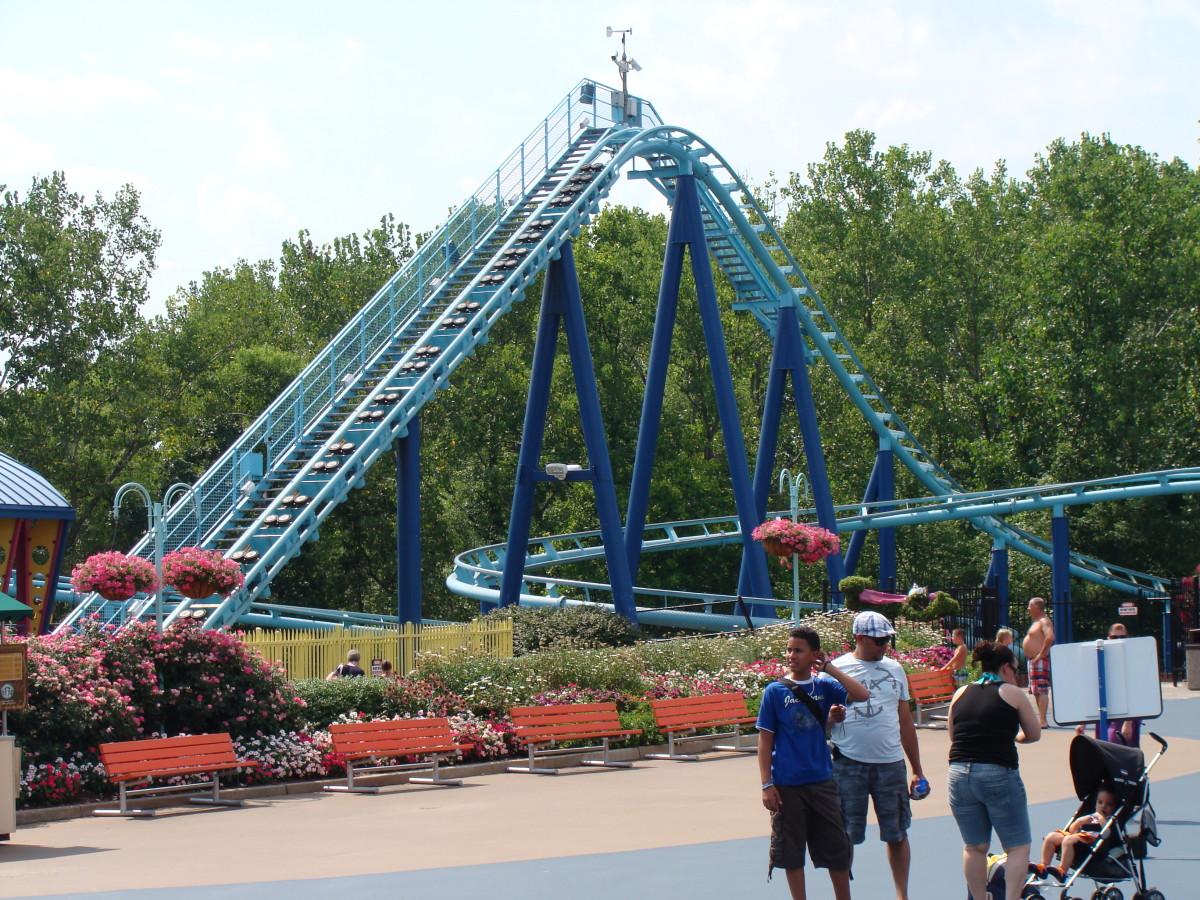 The Vapor Trail Roller Coaster