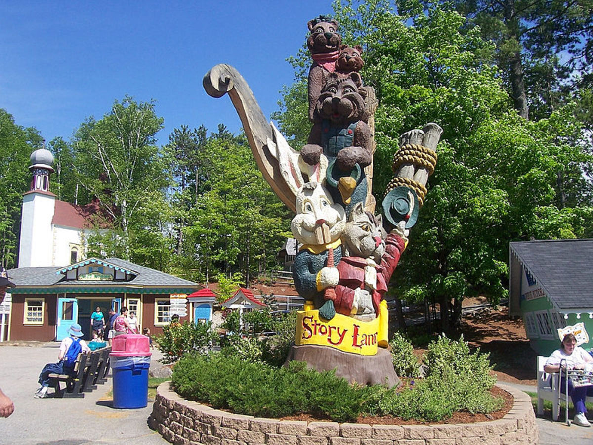 Storyland in New Hampshire's White Mountains.