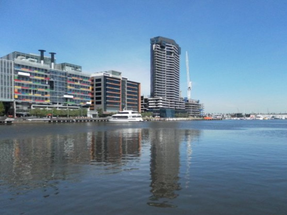 Docklands from Harbour Esplanade