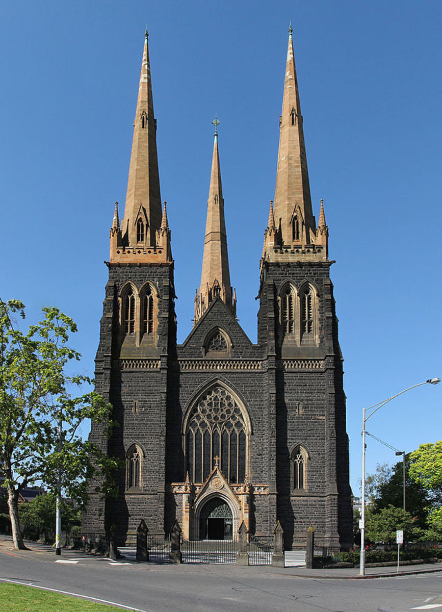 St Patrick's Cathedral.