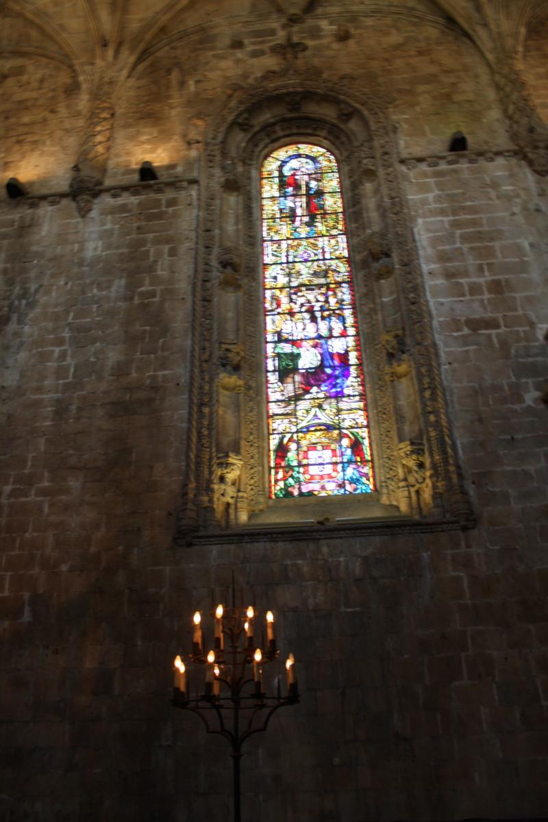 Inside the Monastery of Jeronimos