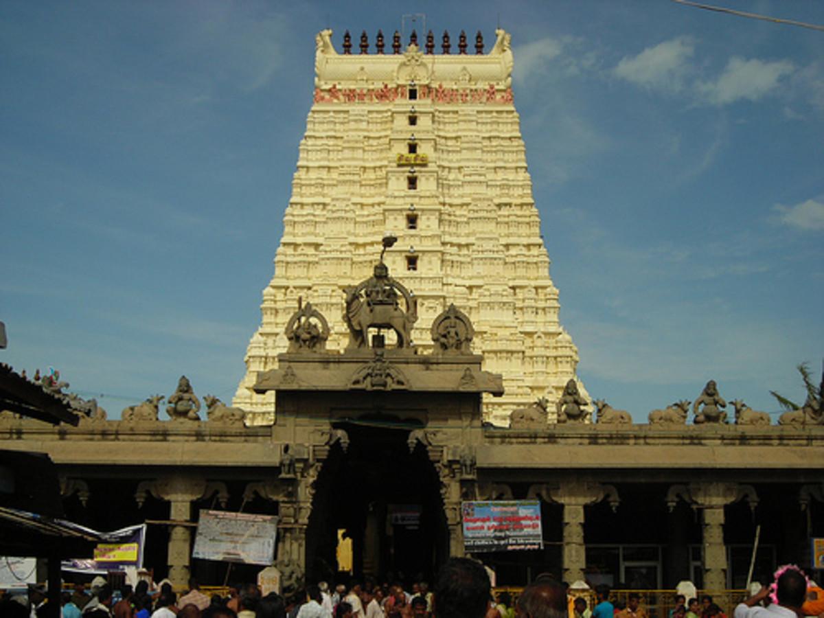 Puerta de entrada, Rameshwaram, Pamban Island