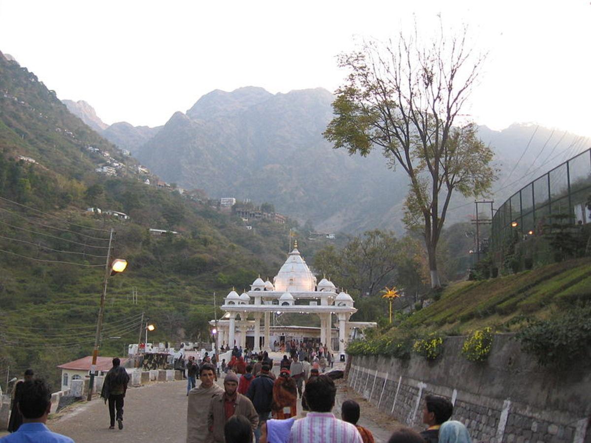 Puerta de entrada desde donde comienza el Yatra.