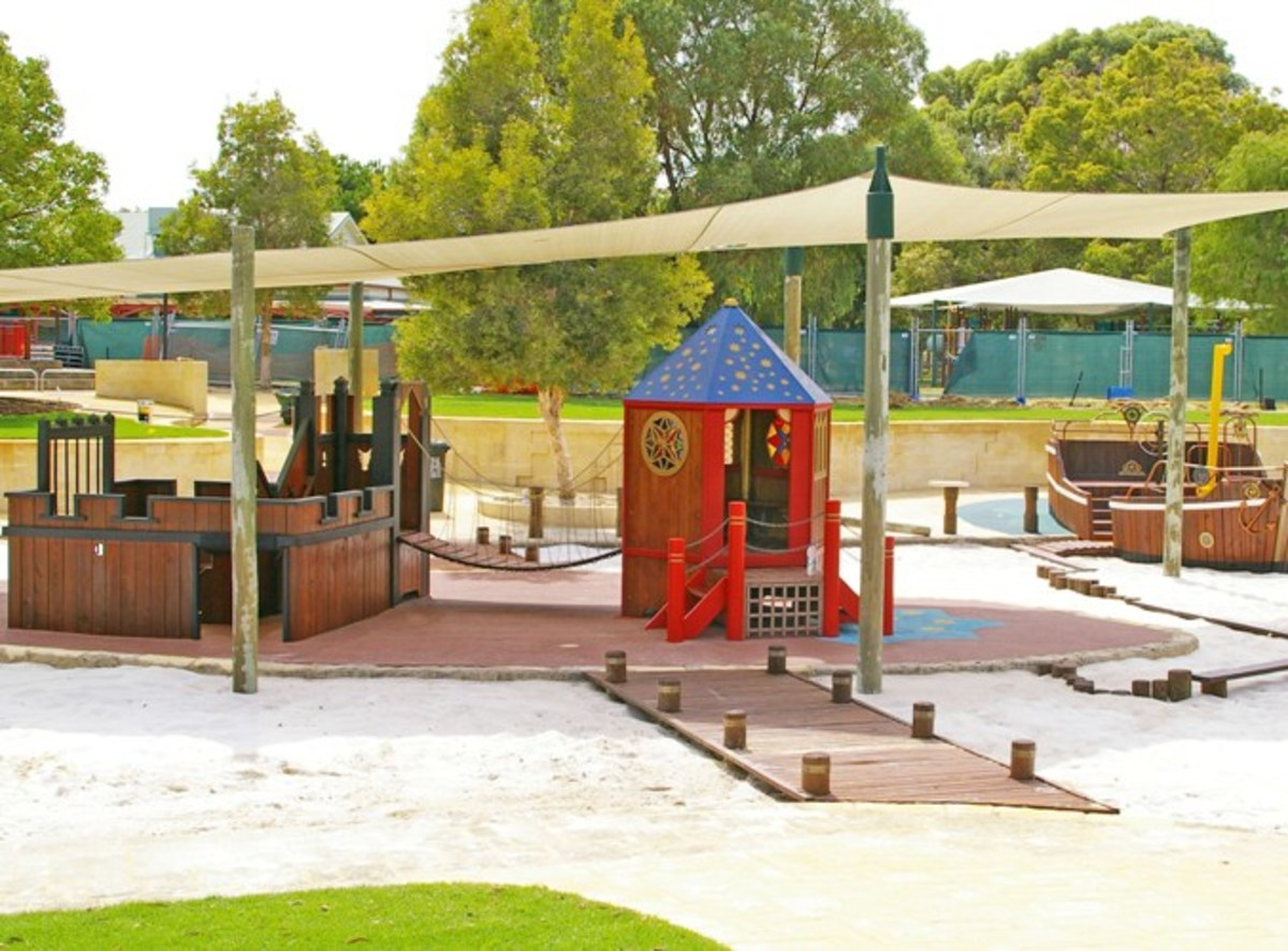 Lotterywest Family Area playground