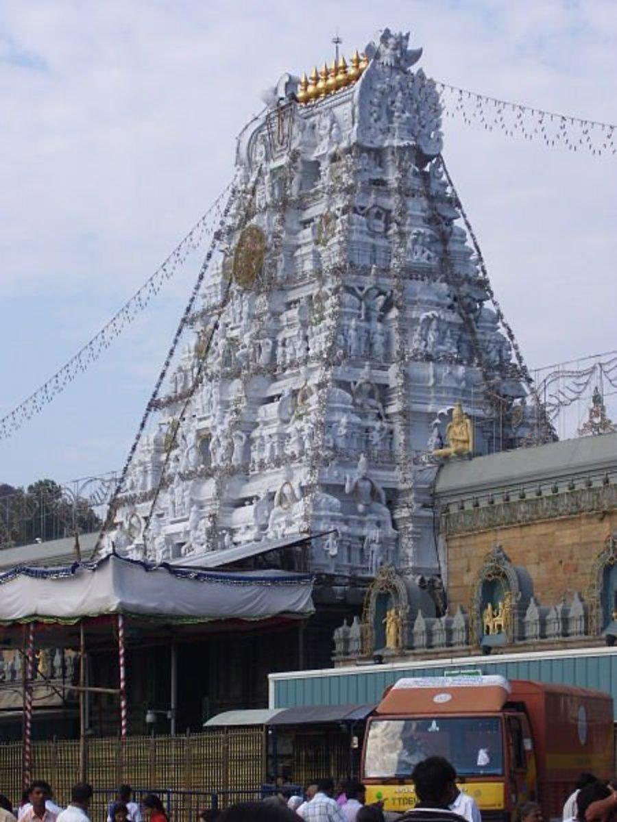 Puerta de entrada de Tirupati Balaji