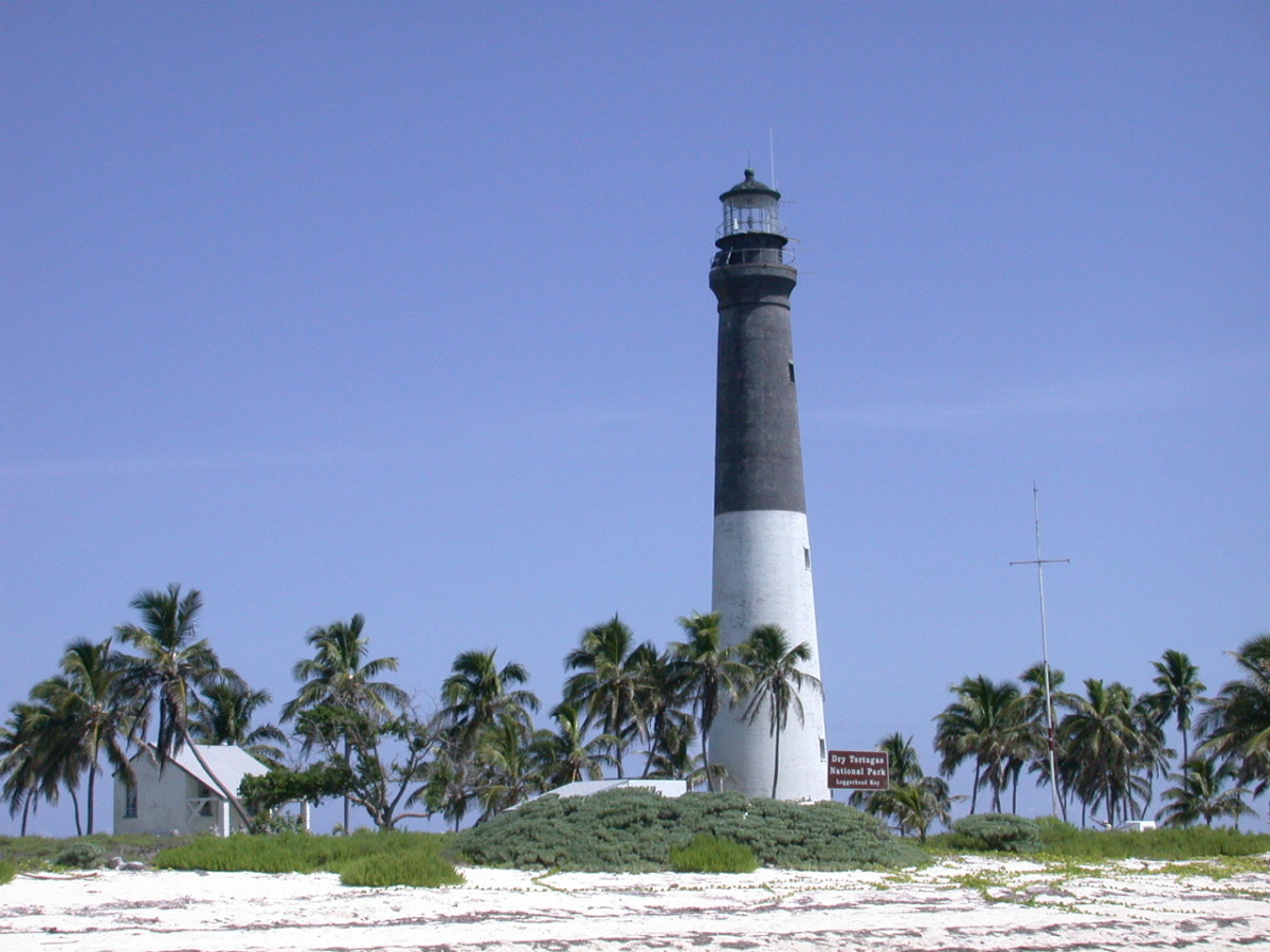 The lighthouse on Loggerhead Key