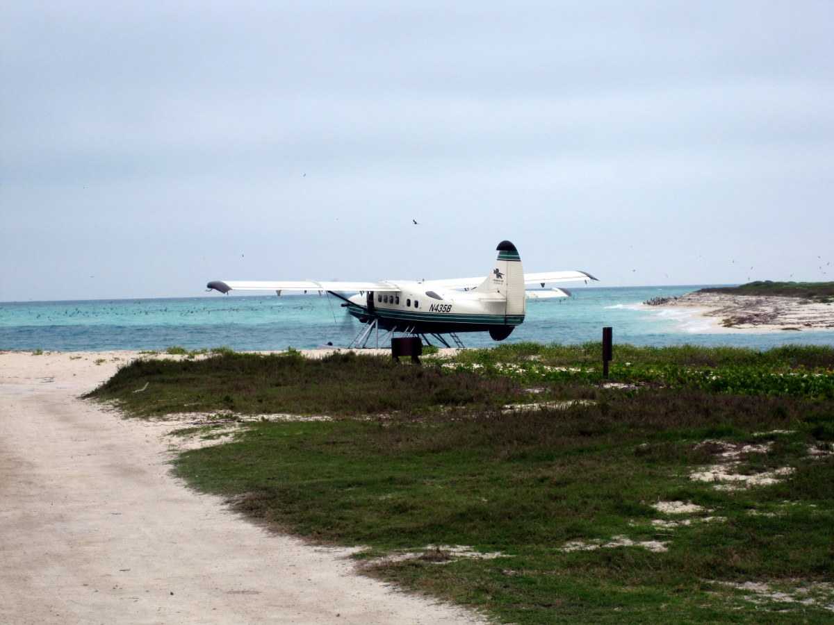 Seaplanes make multiple daily trips to Dry Tortugas from Key West