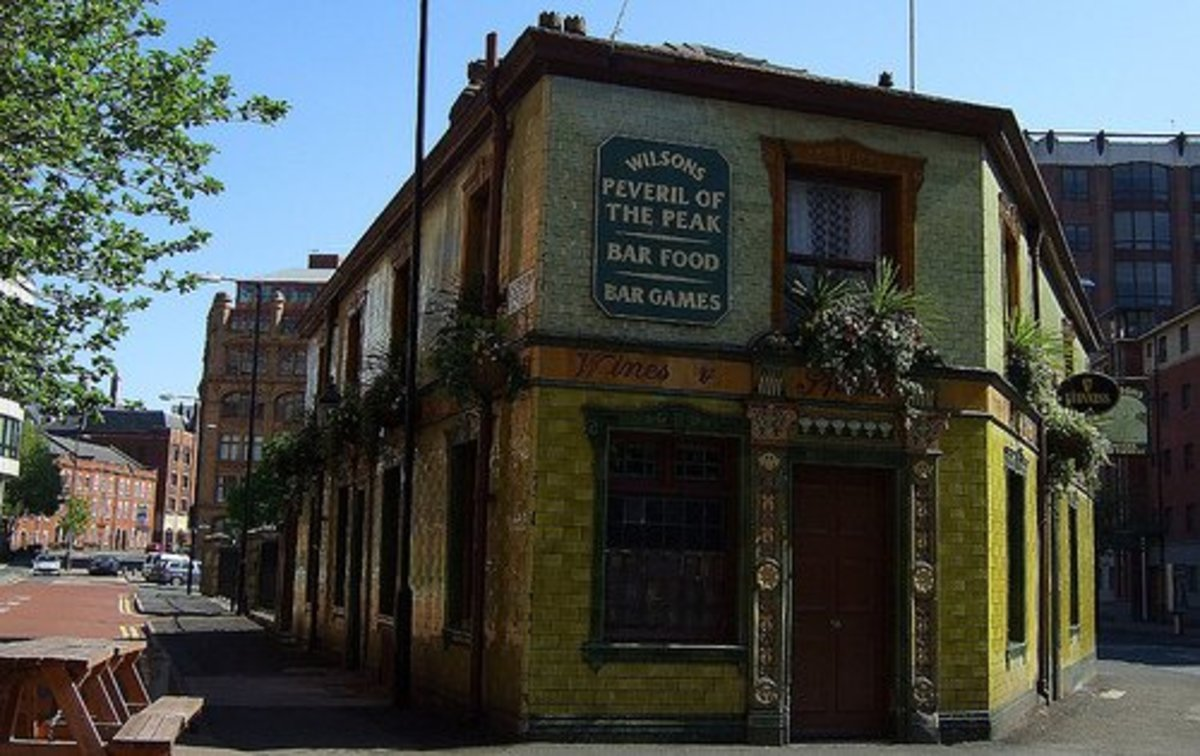 The Peveril of the Peaks, Manchester