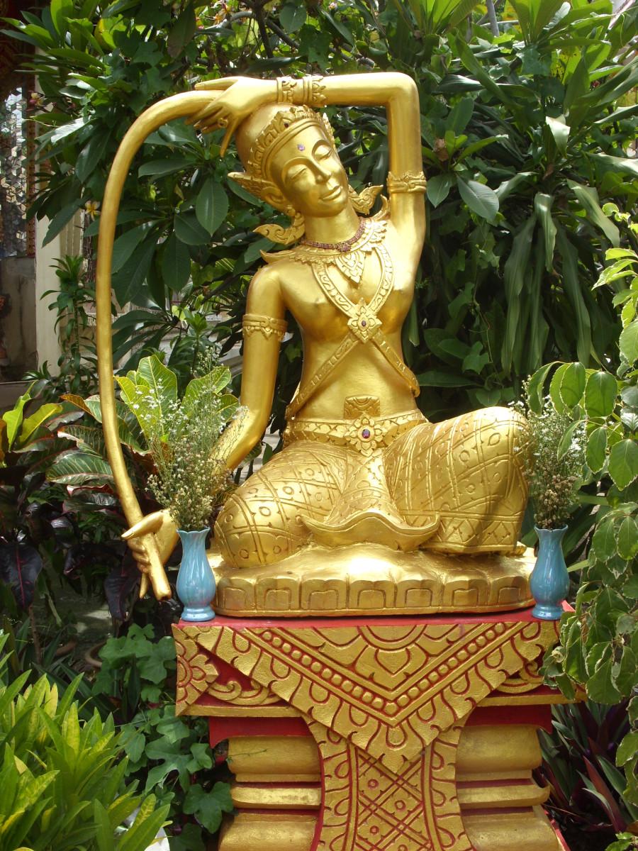 Phra Mae Torani:  Earth Goddess