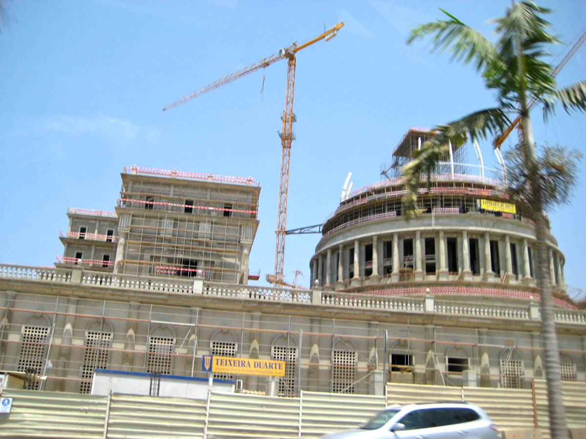 Construction of beautiful government buildings