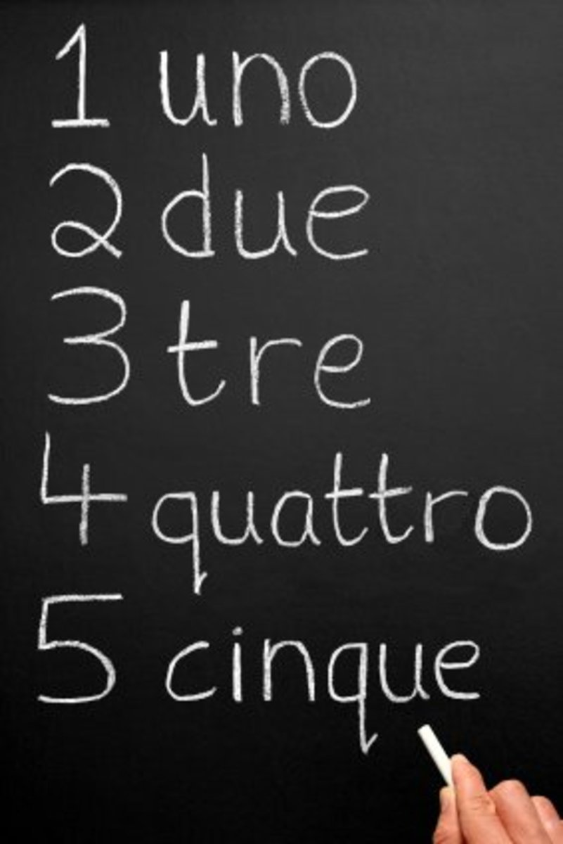 Learn your Italian numbers, it will come in handy.
