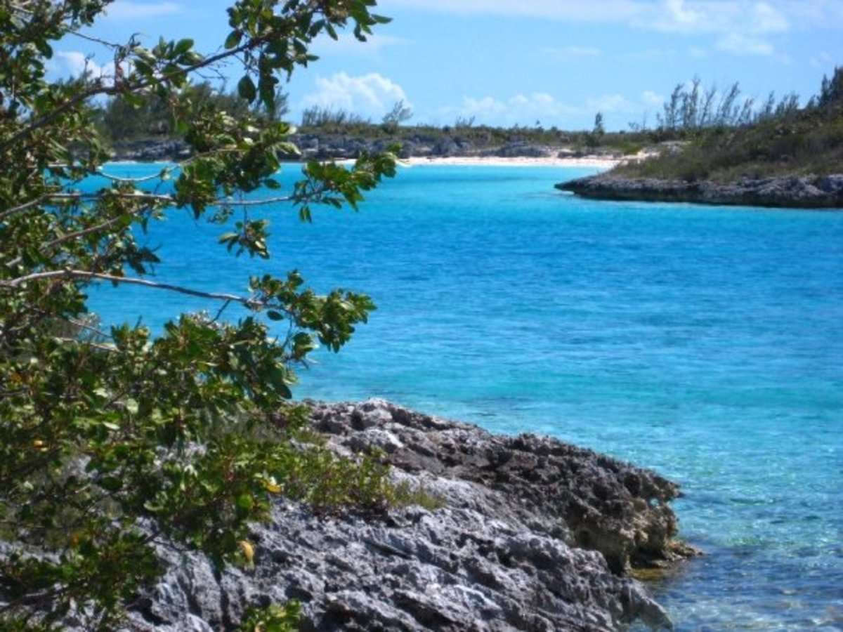 Saddleback Cay, Exuma Islands, Bahamas
