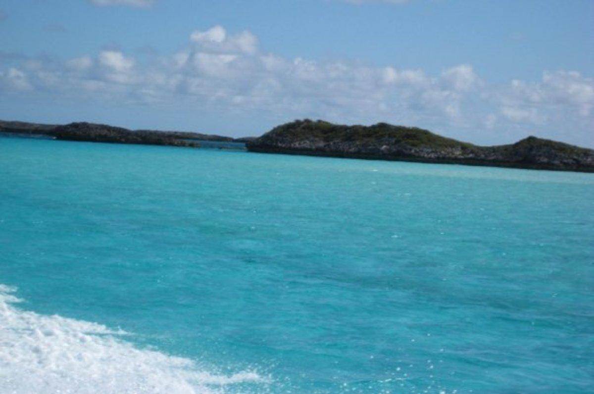 Islands in the Exumas, Bahamas
