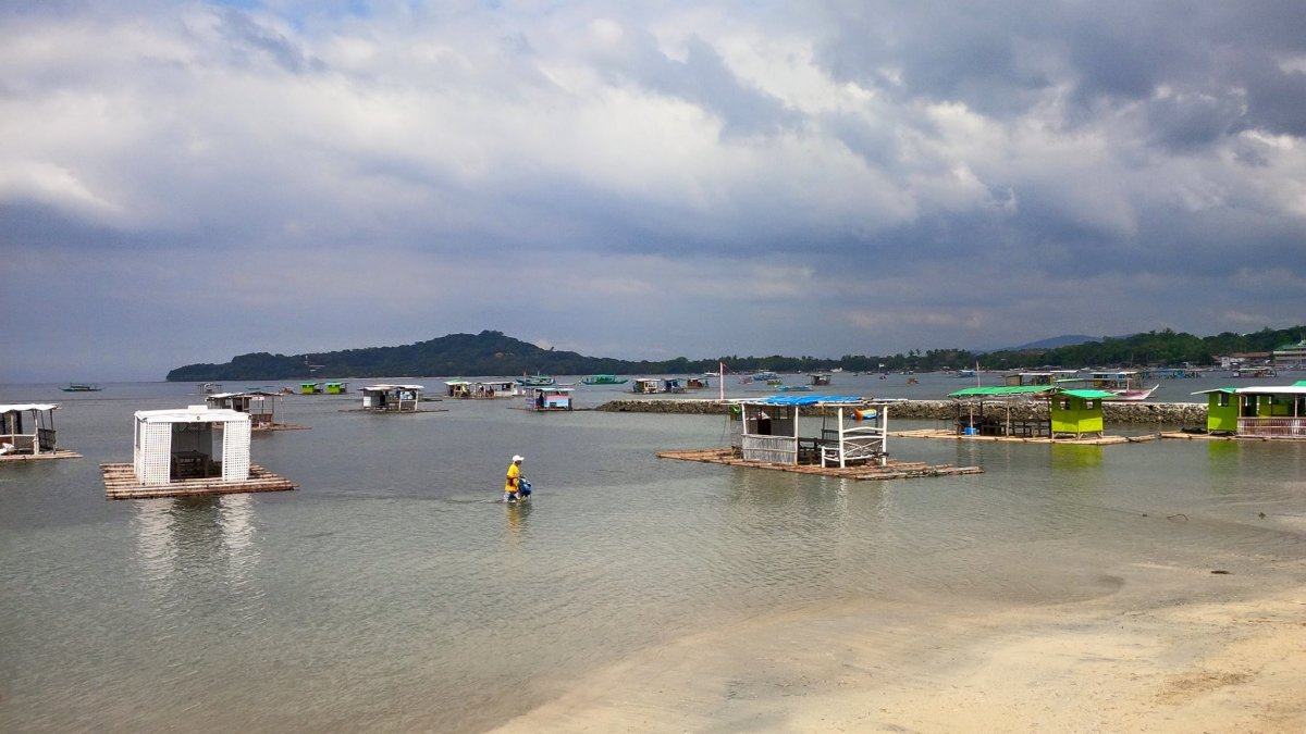 Matabungkay shoreline