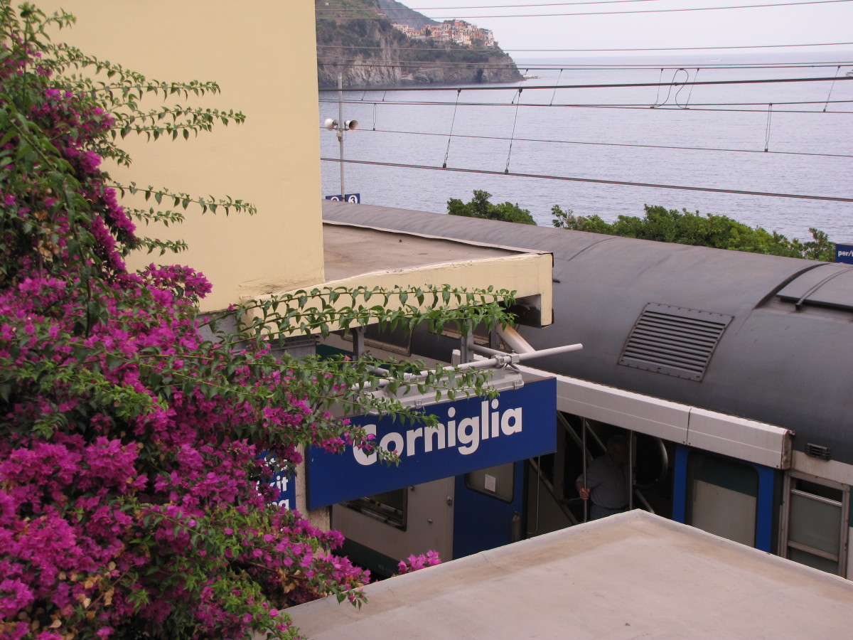 Corniglia train station