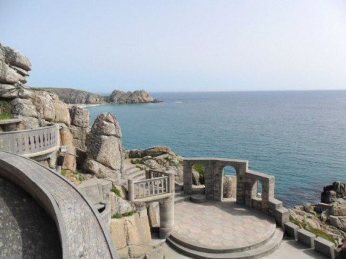 Minack Theatre's sea view and open-air construction make for some truly memorable shows.