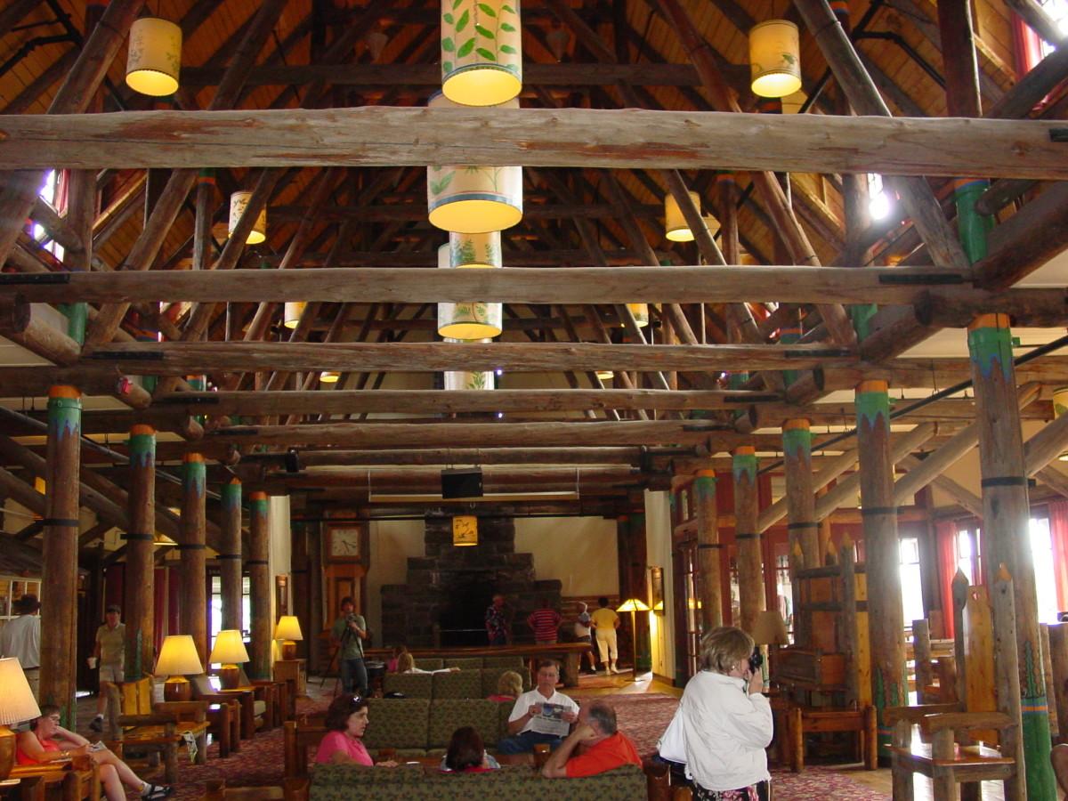 The historic Paradise Inn