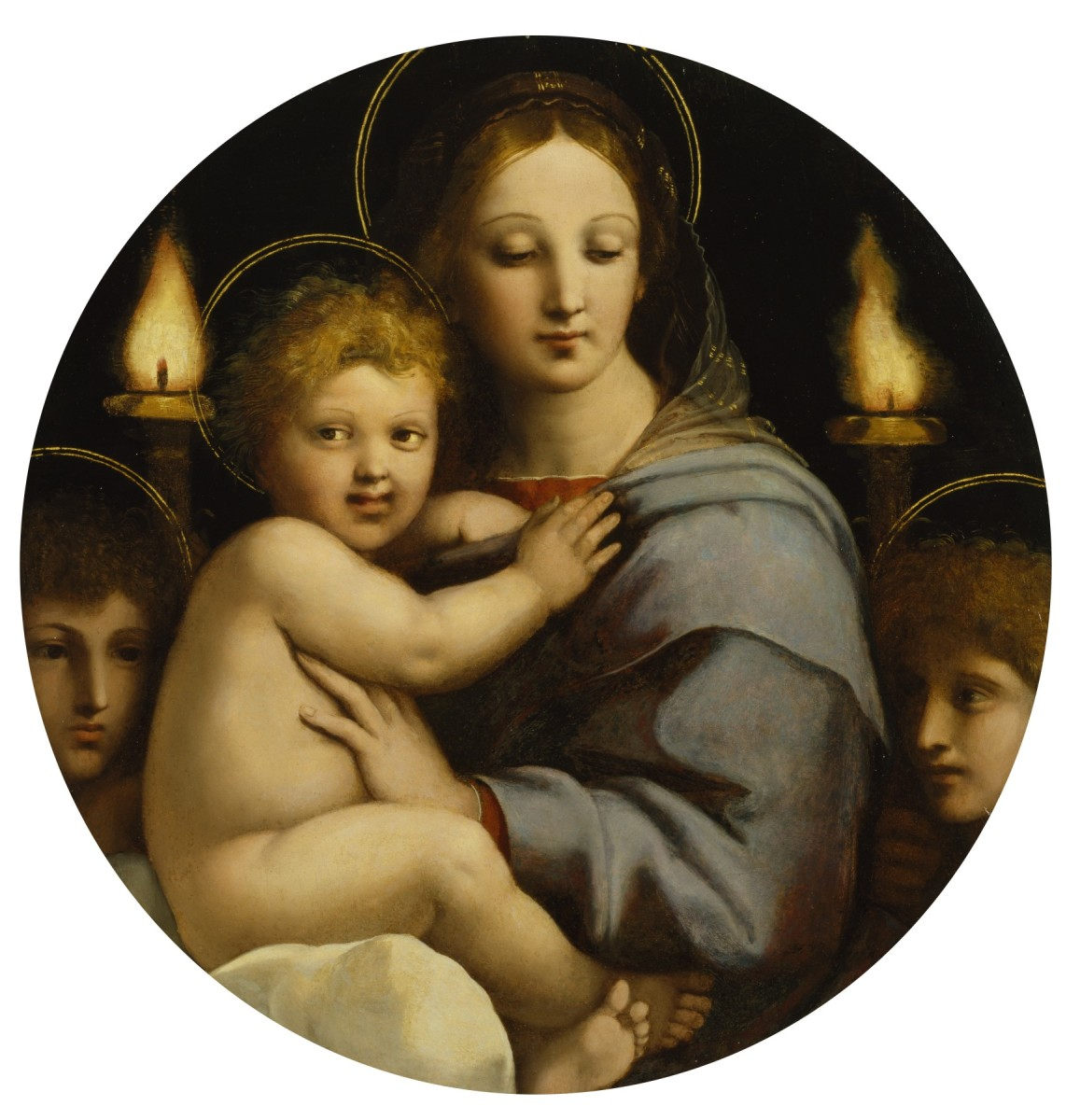 A painting by Raphael at the Walter's Museum of Art