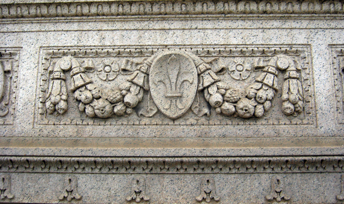 Architectural detail of a building