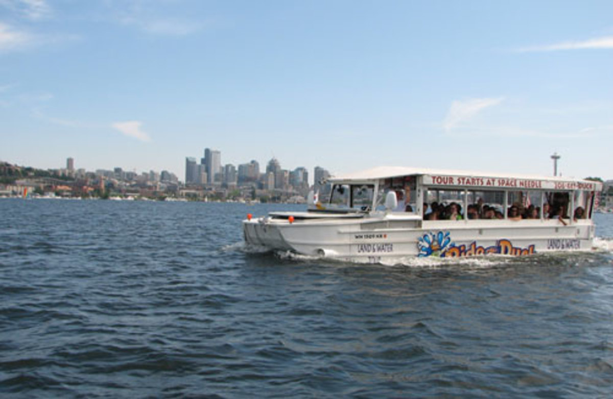Seattle Duck Boats