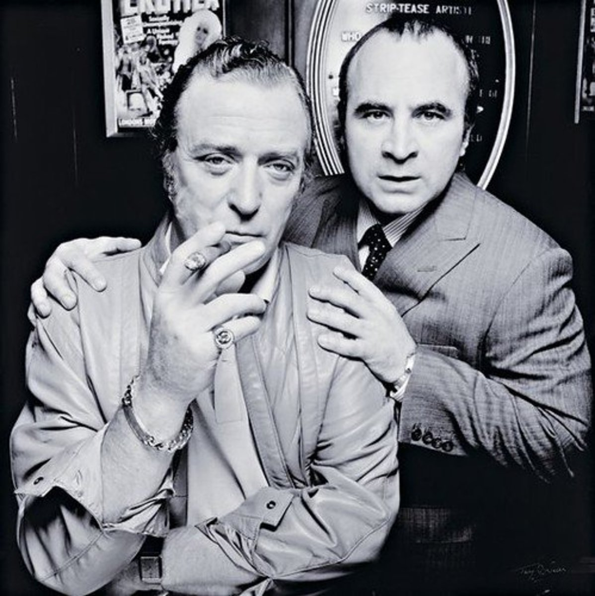 Caine and Hoskins, Michael and Bob, Just the Job!