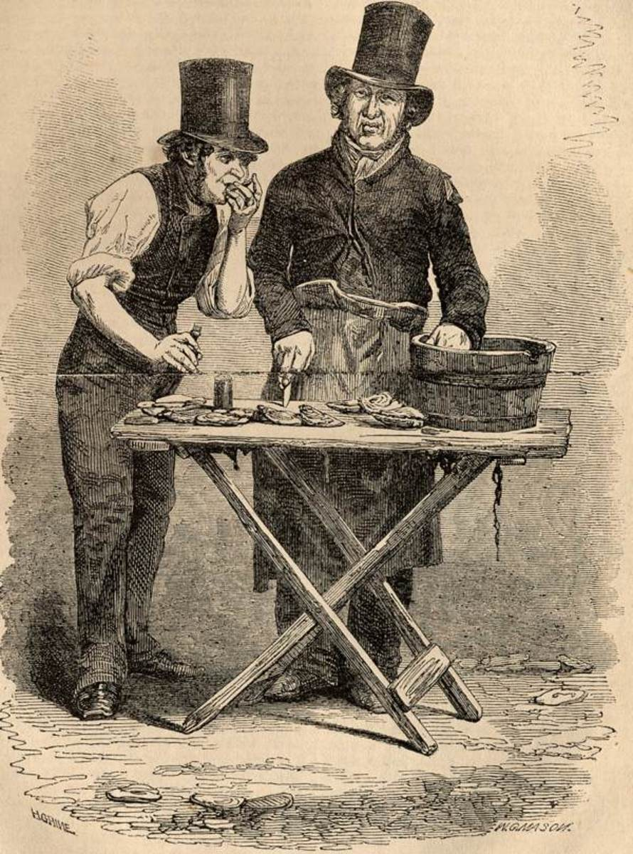 Oyster Sellers of Victorian London