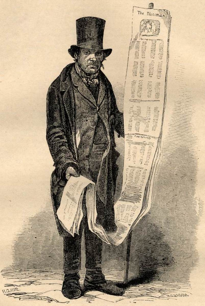 Long Song Seller in London.