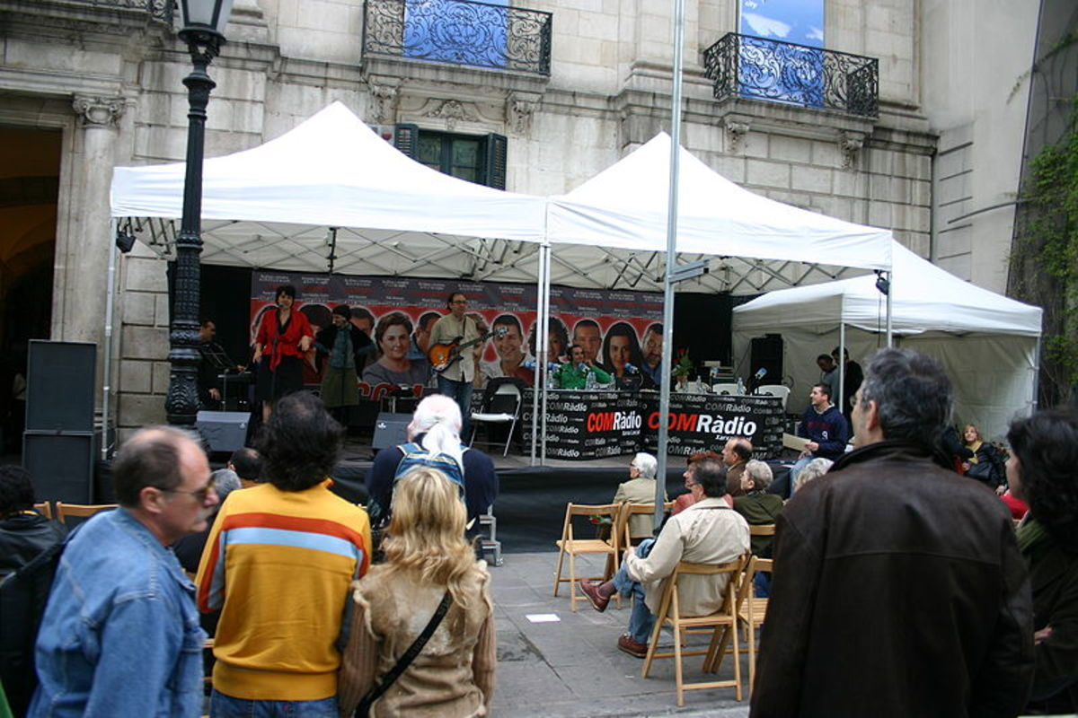 Entertainment in Las Ramblas
