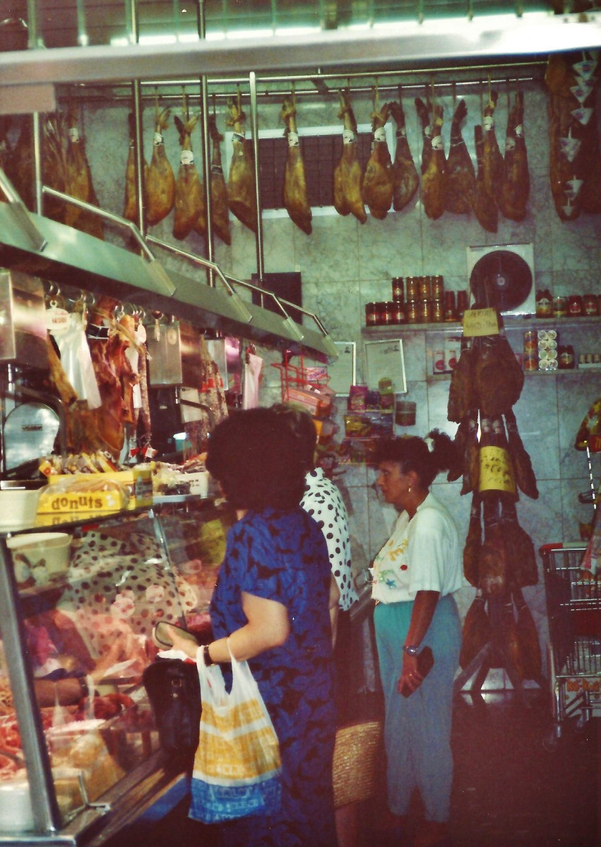 Meat market at Las Ramblas