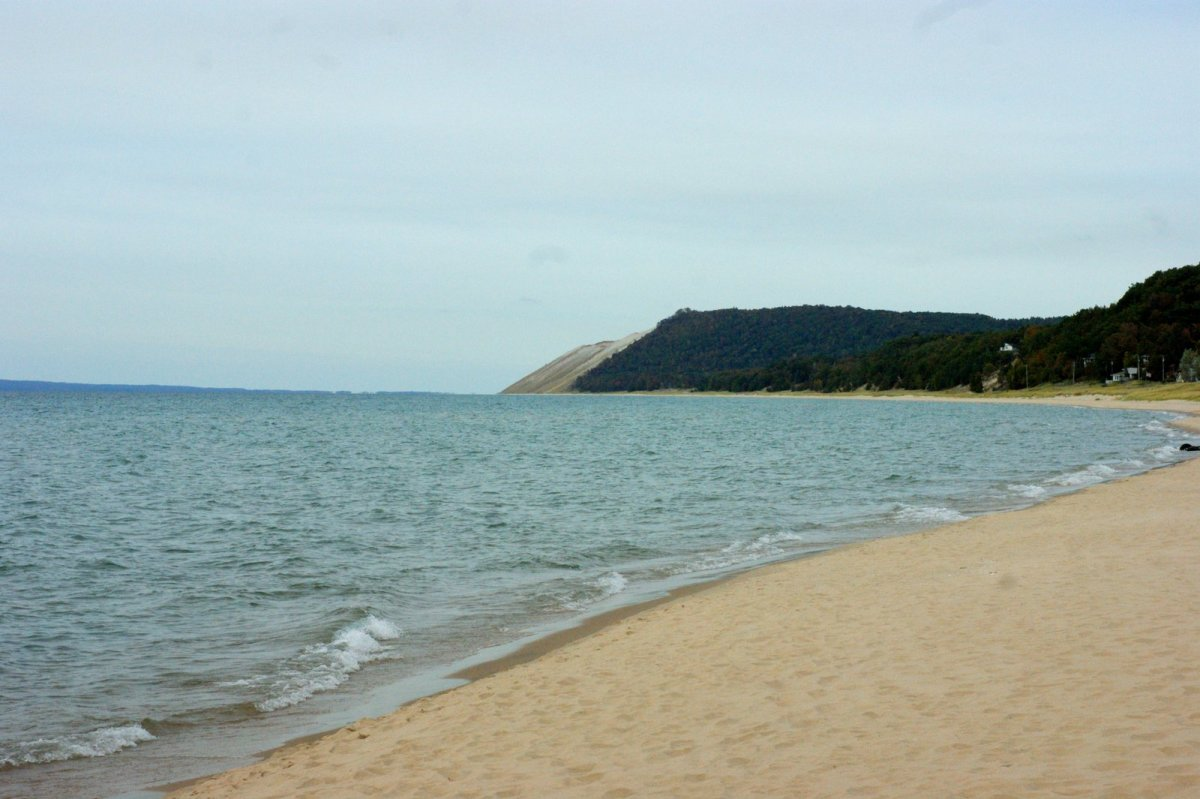 Lake Michigan and Sleeping Bear Dune shoreline