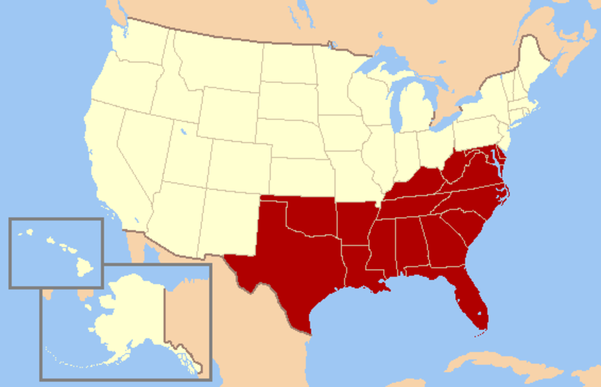 A Guide To Southern Accents And Sayings WanderWisdom - Accent map of us