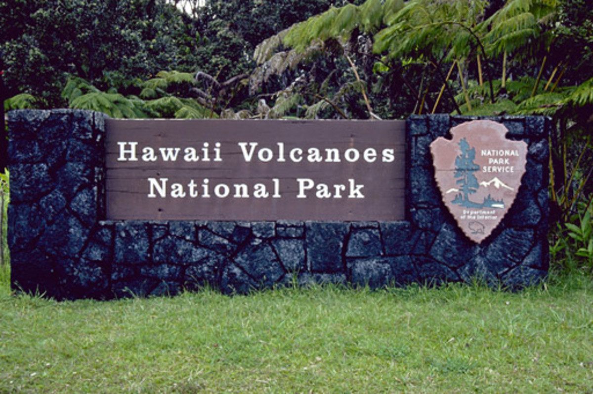 Hawaii Volcanoes National Park celebrates its centennial in 2016.