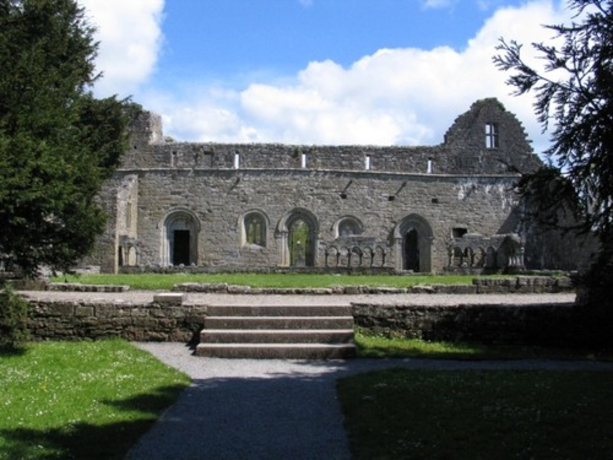 Mediaeval abbey in Cong