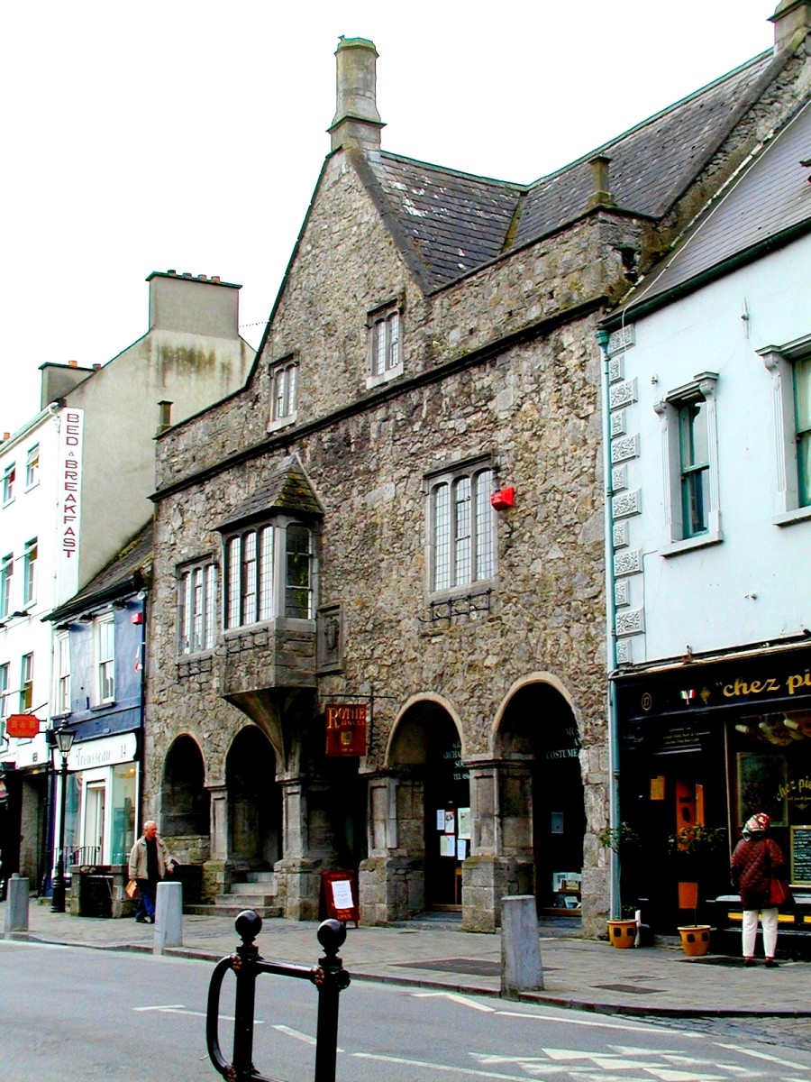 Rothe House, a mediaeval merchant's house in Kilkenny
