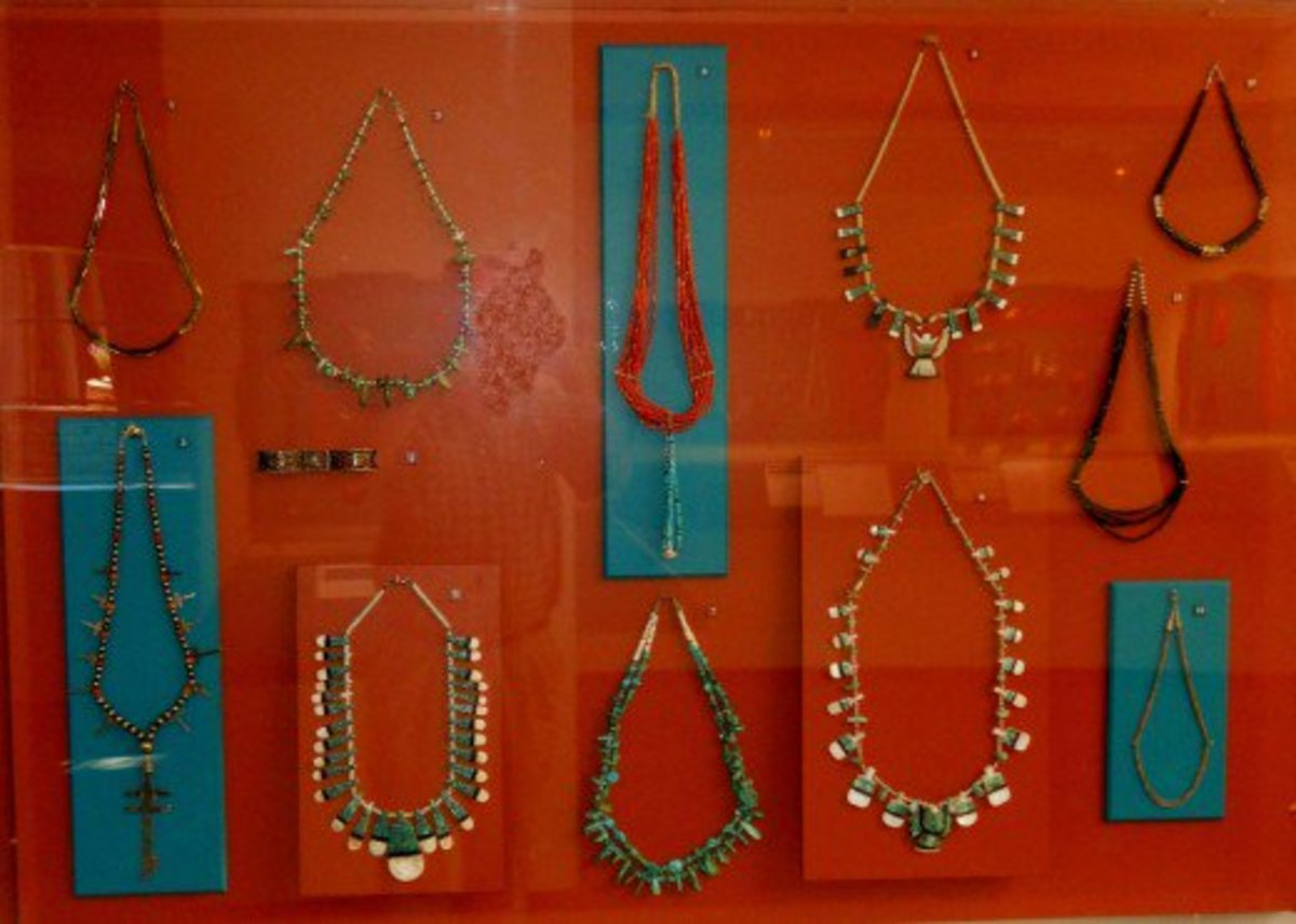 Older Native American jewelry
