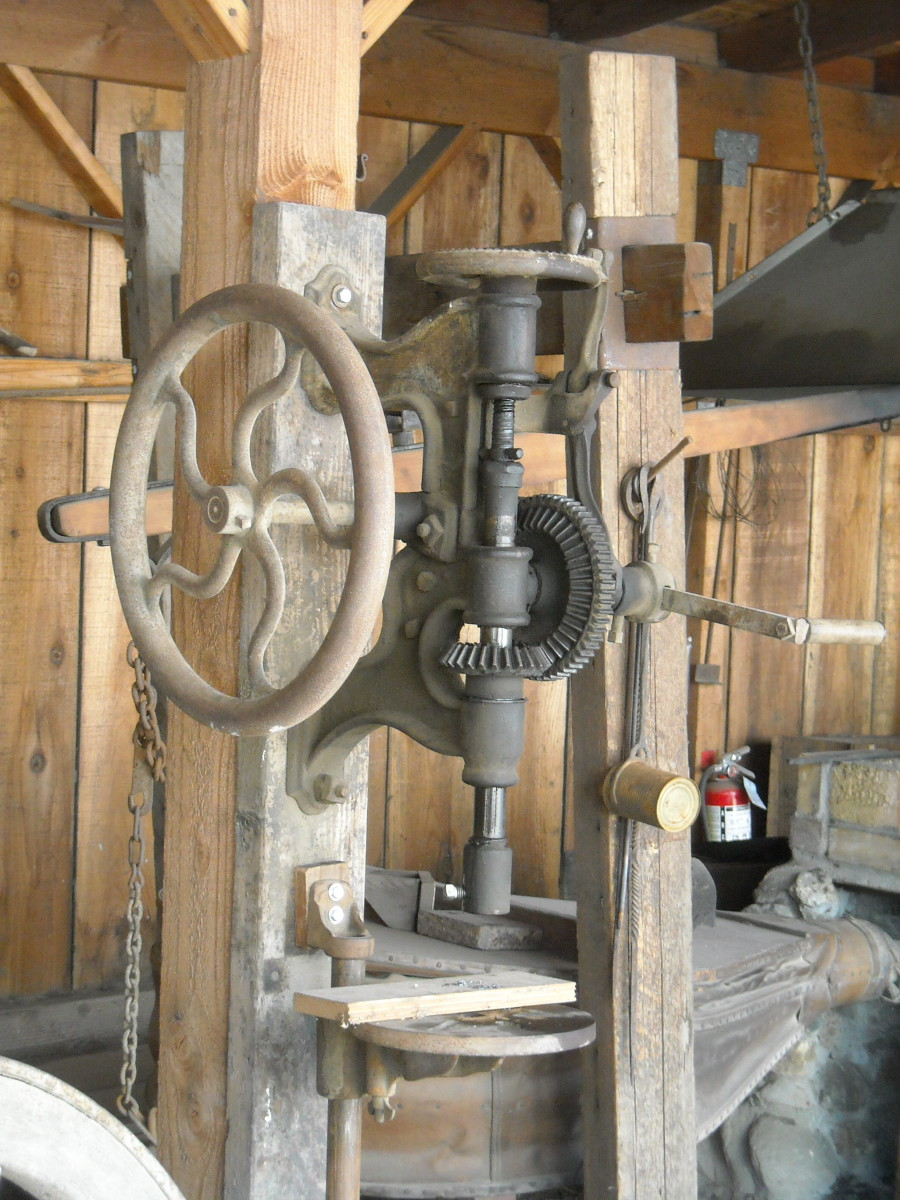 Mechanical Drill Press