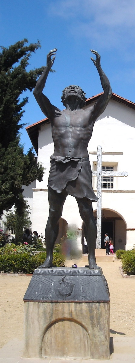 San Juan Bautista (aka  John the Baptist) was a saint with a limited wardrobe and unlimited devotion.