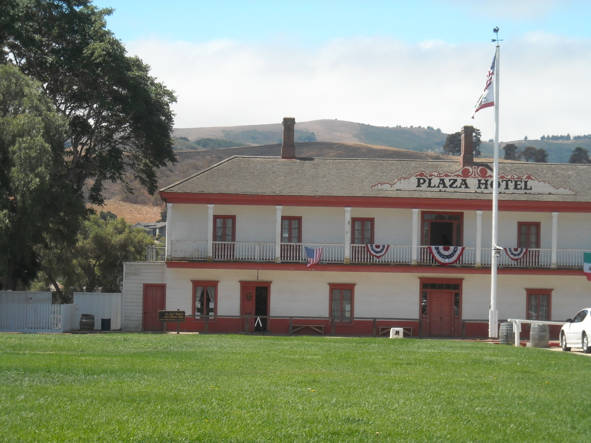 The Plaza Hotel  building  - SJB State Park .
