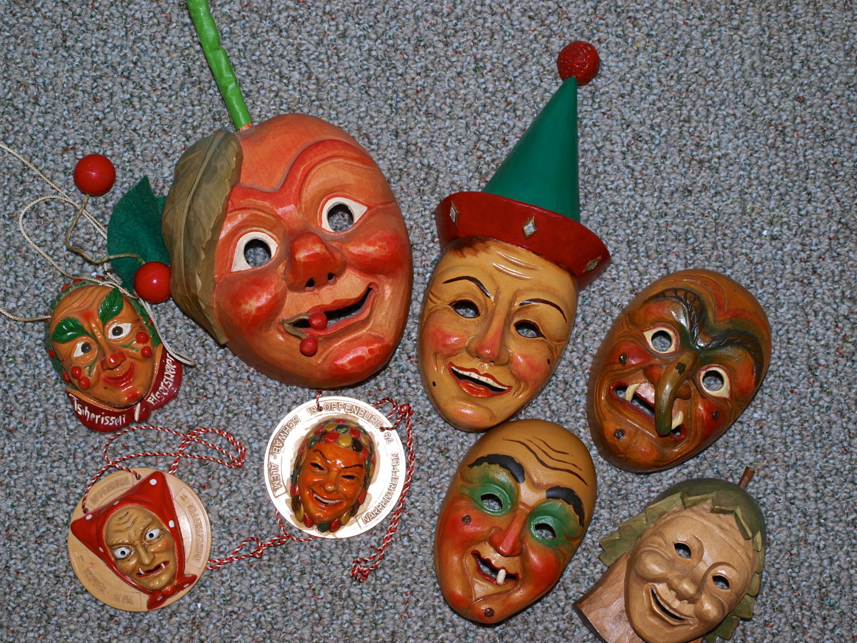 Fasching Masks