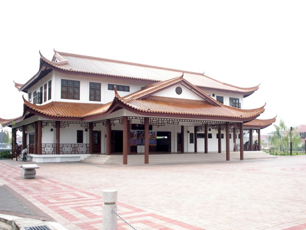 Tea house at Friendship Garden