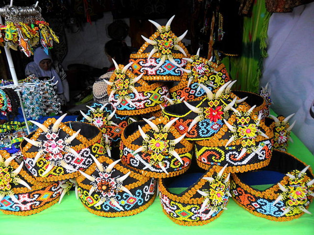 Dayak handicraft items