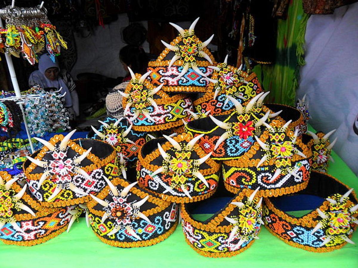 Dayak handicraft items