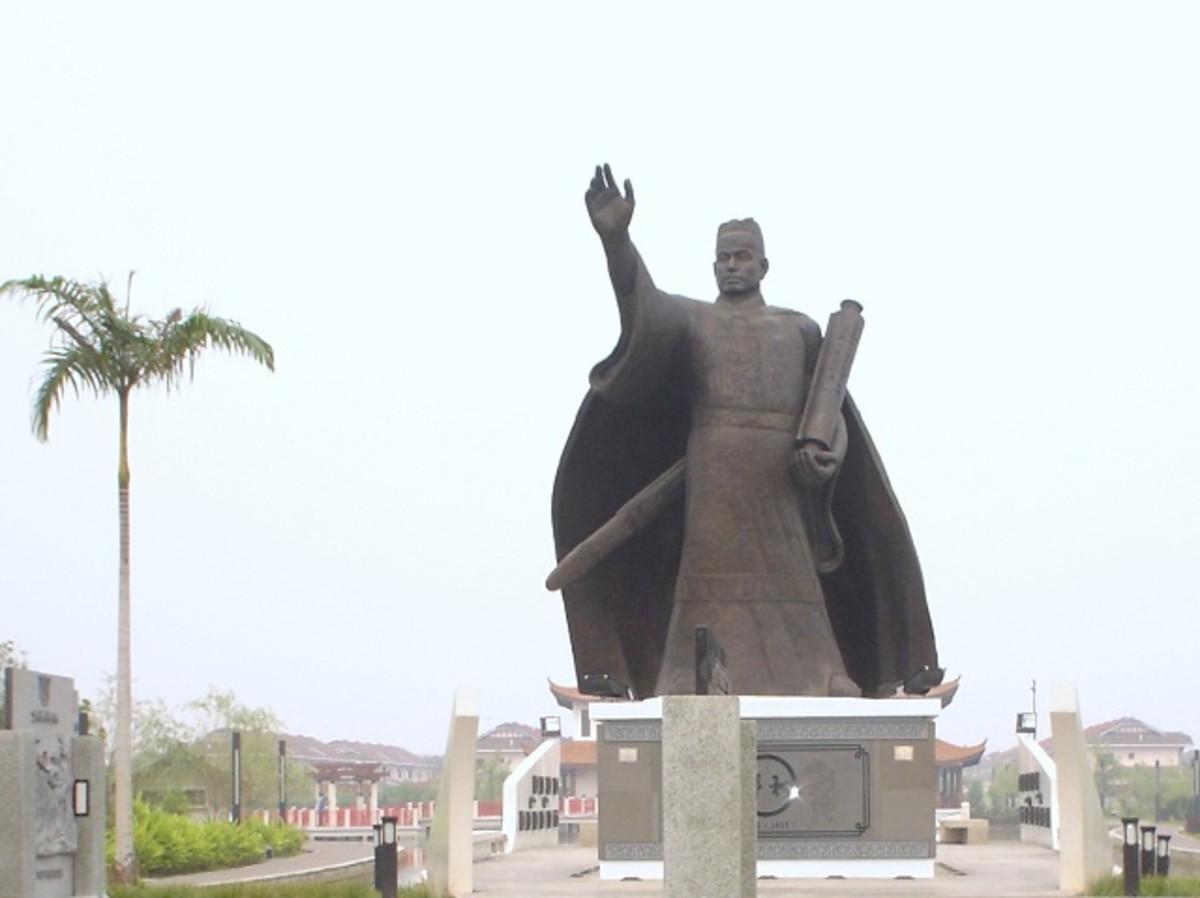 Admiral Cheng Ho at Friendship Garden