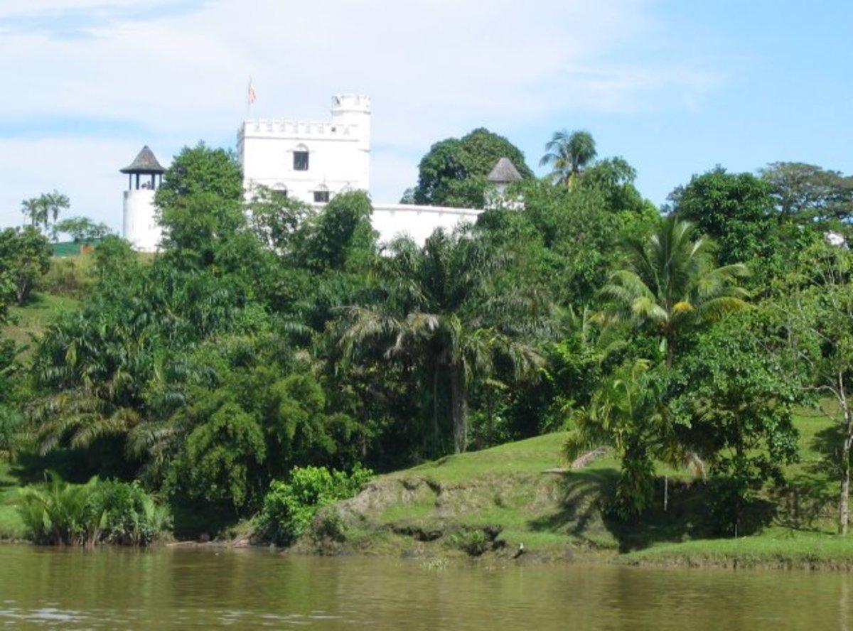 Fort Margherita near the riverside