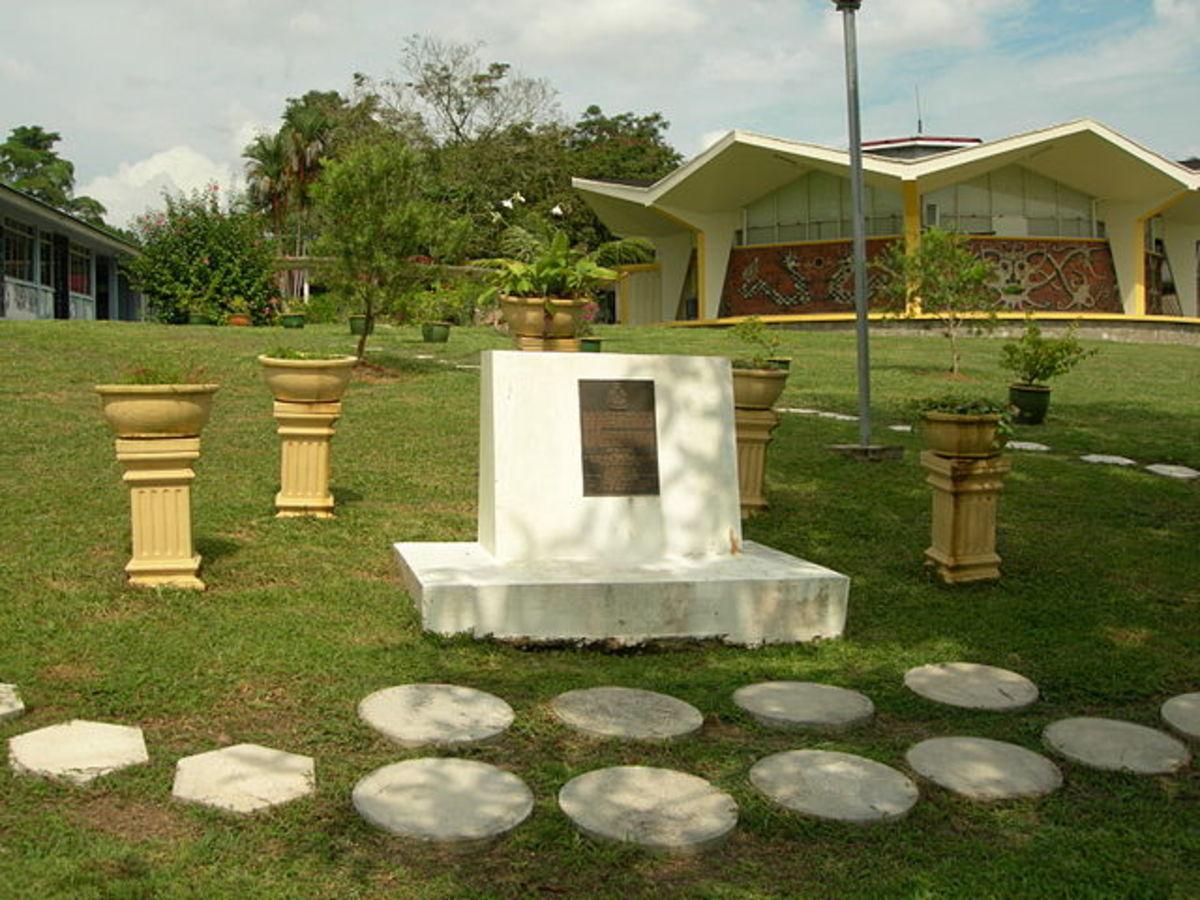 Batu Lintang POW Camp memorial