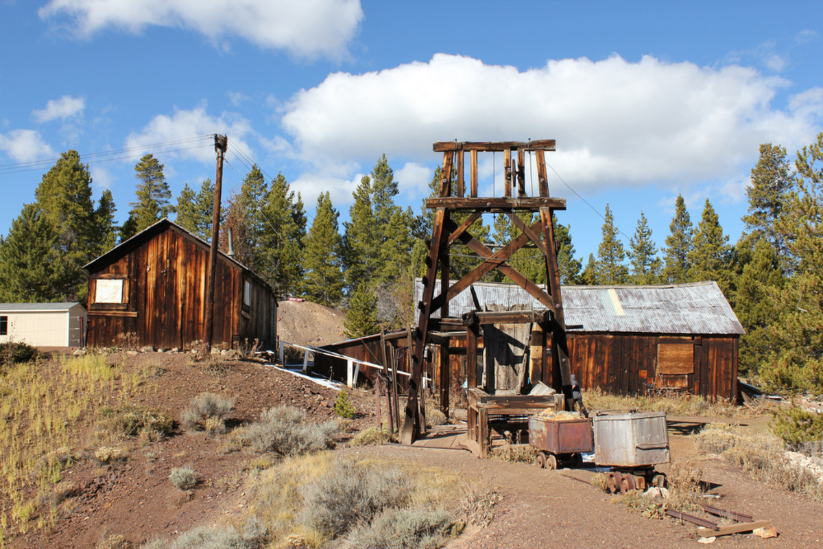 The Matchless Mine in Leadville