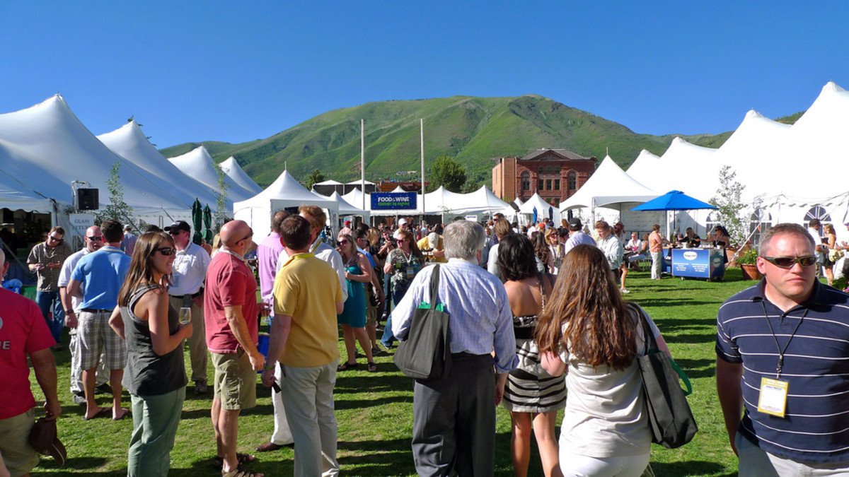 Grand Tasting at the Aspen Food & Wine Classic
