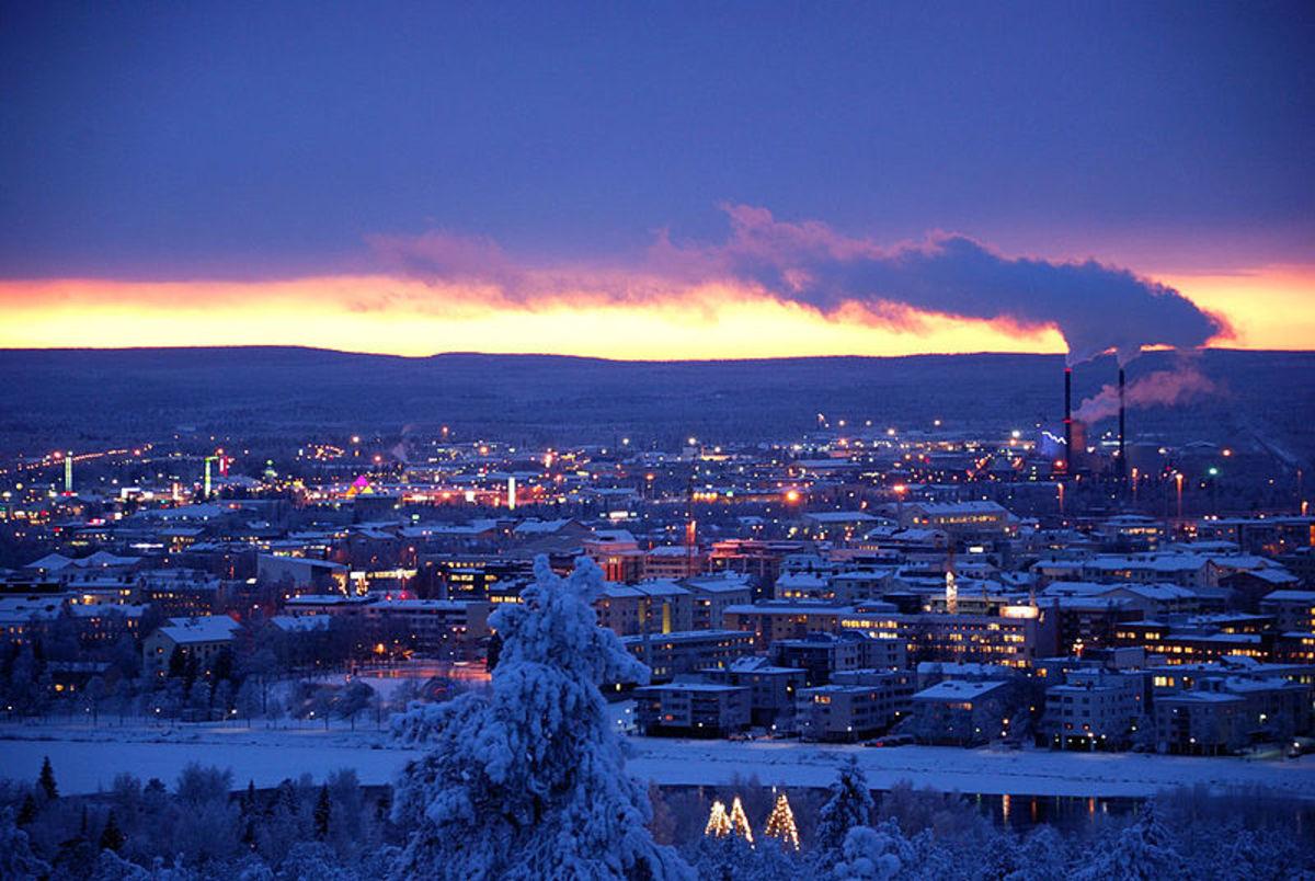 Rovaniemi from Ounasvaara