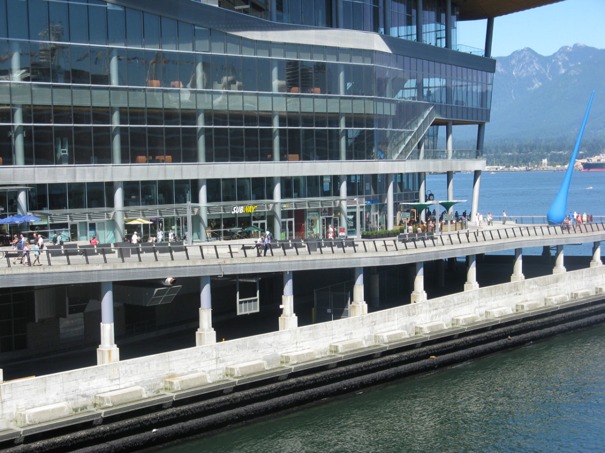 Another part of the Canada Place complex
