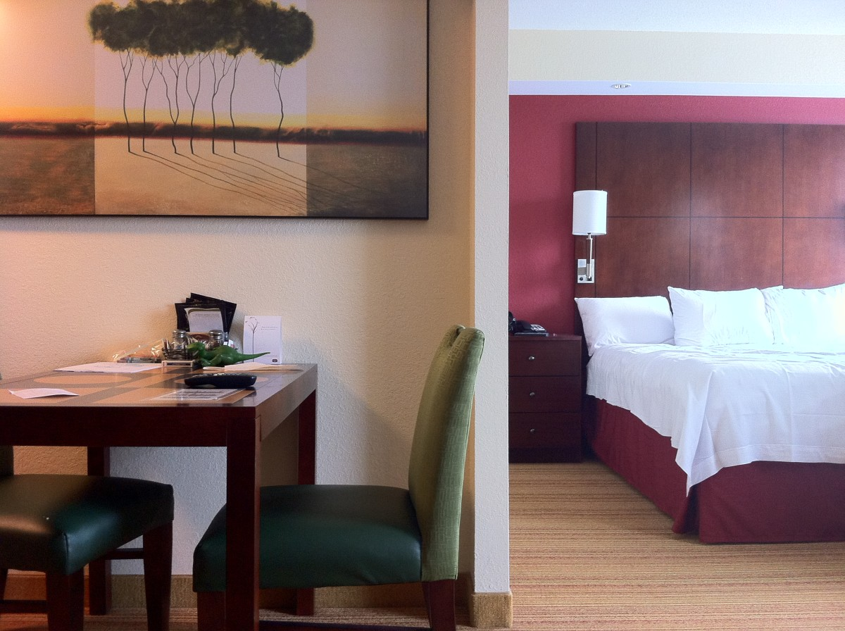 Splurging on a night or two at a hotel can make your staycation feel more like a real vacation.